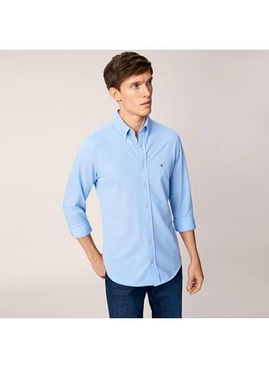 Oxford Yaka Uzun Kollu Gömlek-Gant